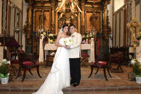 San Ferenando Mission Church Wedding