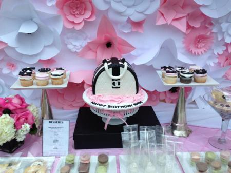 Chanel Themed 70th Birthday Bash In The Clouds Events
